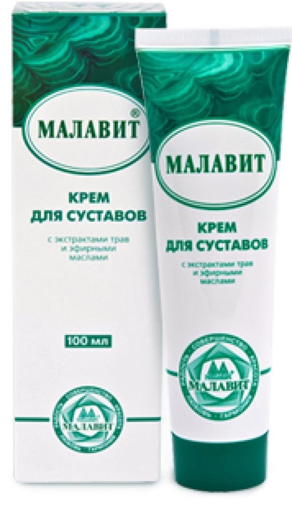 Крем Малавит — эффективное средство для суставов