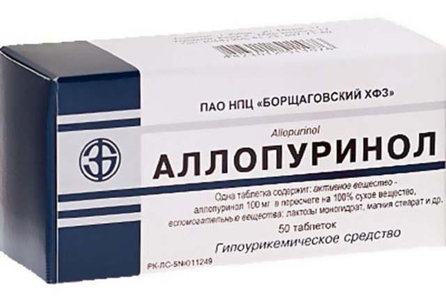 Лечение подагры препаратами, выводящими мочевую кислоту
