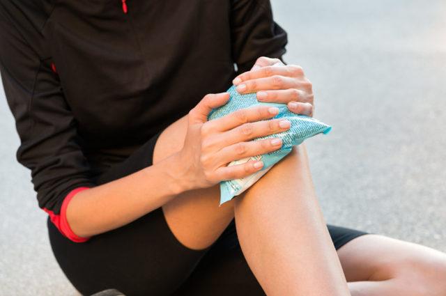 Воспаление связок и сухожилий коленных суставах лечение