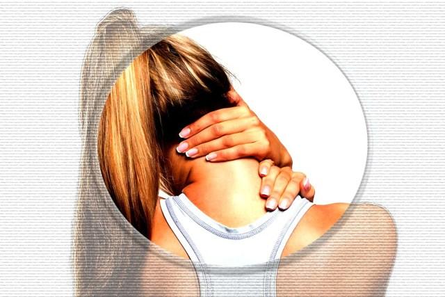 Зарядка для шеи при остеохондрозе с картинками