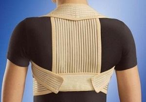 Корсет для спины от сутулости: виды, применение