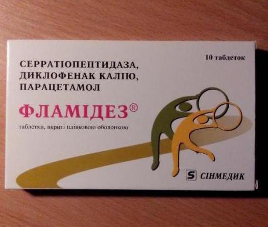 Фламидез — инструкция по применению, состав, аналоги