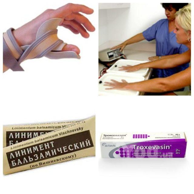 Ушиб руки при падении: лечение в домашних условиях
