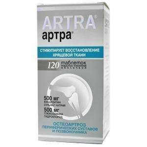 Таблетки Артра — инструкция по применению, цена и отзывы