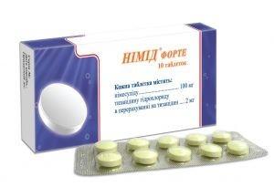Нимид инструкция, цена в аптеках на Нимид