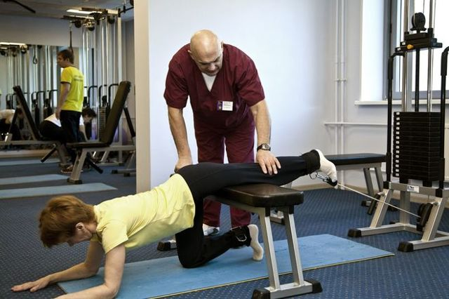 Упражнения при кисте Бейкера коленного сустава