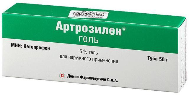 Артрозилен гель: инструкция по применению, цена, состав