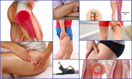 Немеет нога от бедра до колена: причины и лечение