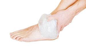 Растяжение связок голеностопа: симптомы, лечение, диагностика