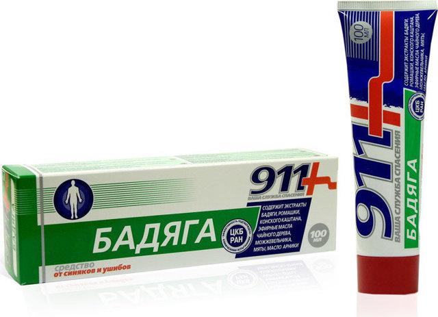 Бадяга 911: инструкция по применению, состав, отзывы