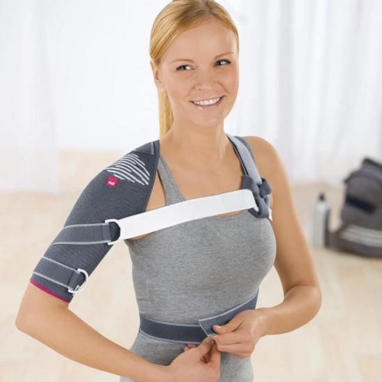 Как правильно одеть плечевой ортез