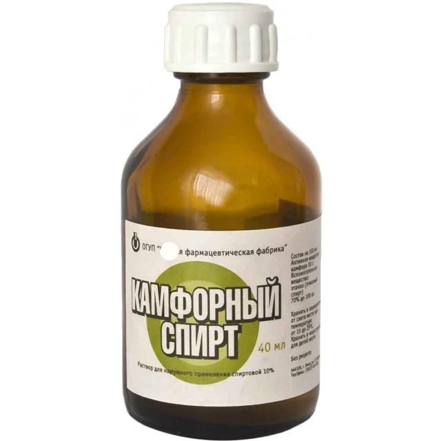 Камфорный спирт для суставов: растирка и гель для эффективного лечения