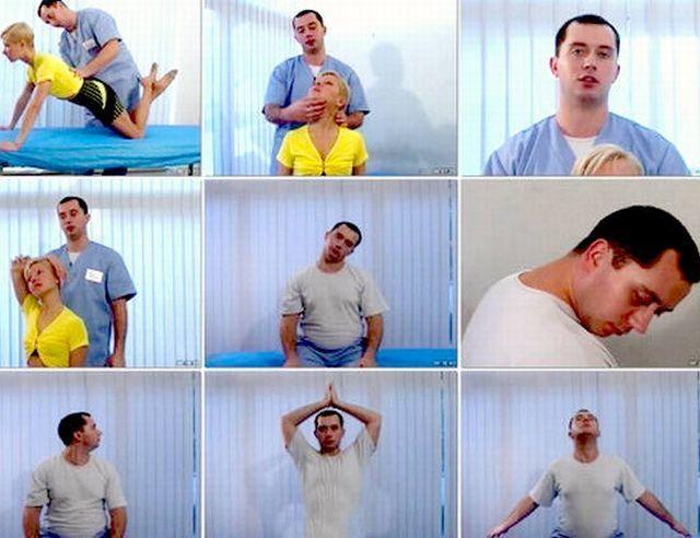 Гимнастика Шишонина при остеохондрозе шейного отдела