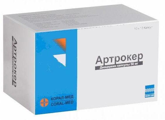 Артрокер: инструкция по применению, состав капсул, цена и аналоги