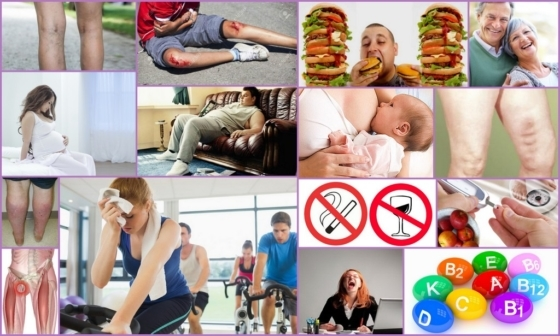 Спазм мышц бедра: причины и характерные признаки