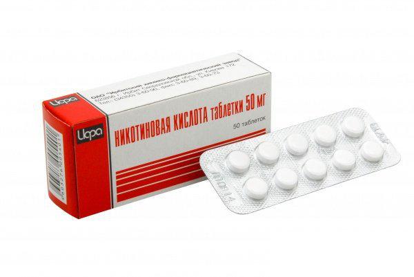 Никотиновая кислота при остеохондрозе шейного и поясничного отделов