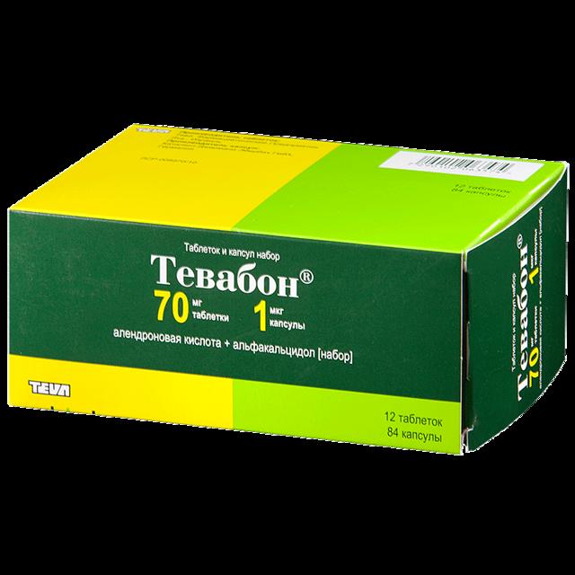 Тевабон — инструкция по применению, цена, состав
