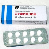Эуфиллин при остеохондрозе: применение и отзывы