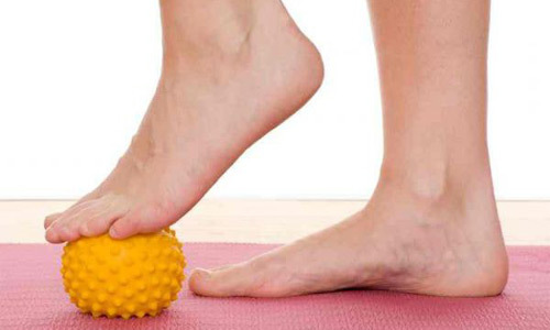 Лечебная гимнастика при пяточной шпоре - комплекс упражнений